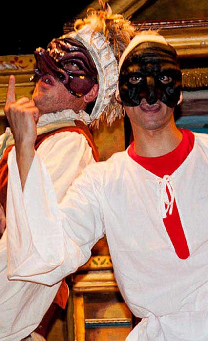 theater show children Pulcinella e i consigli di re salomone